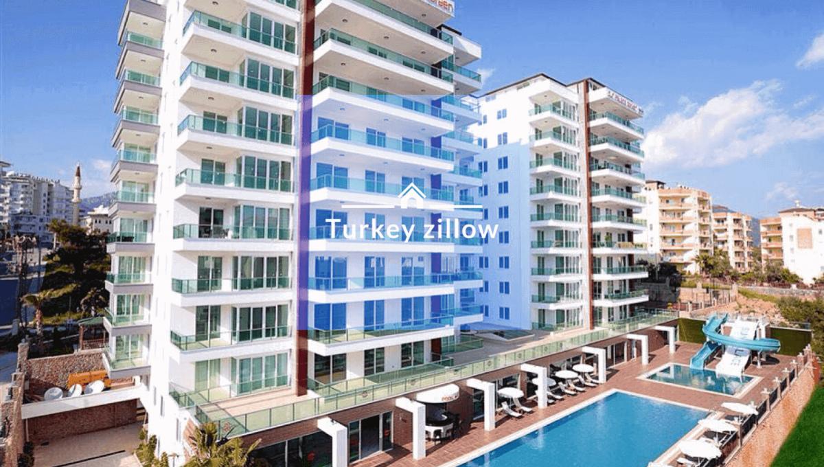 فروش آپارتمان ترکیه آلانیا با مبلمان