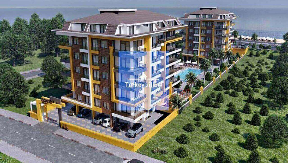 آپارتمان برای فروش در آلانیا کستل با شرایط اقساطی