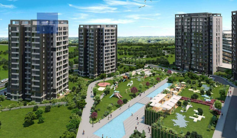 آپارتمان برای فروش در آستانبول (5)