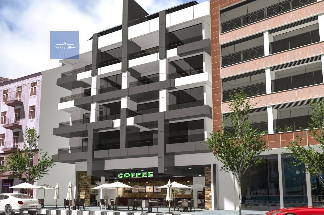 آپارتمان برای فروش در آلانیا مرکز مناسب برای سرمایه گذاری