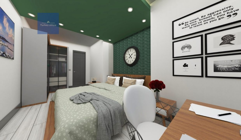 آپارتمان برای فروش در آلانیا (3)