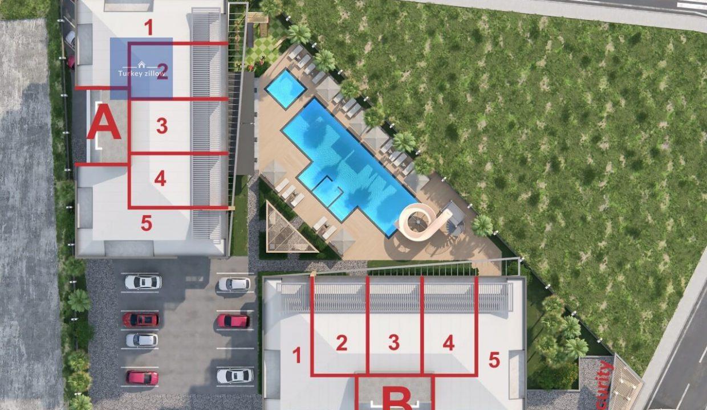 آپارتمان برای فروش در آلانیا (38)