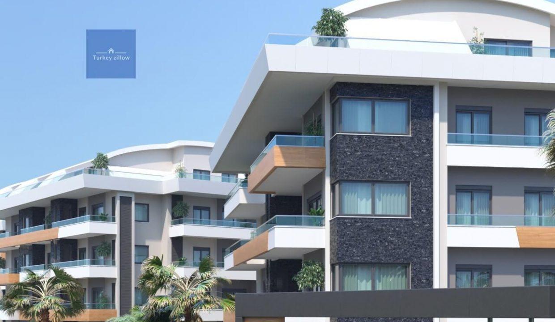 آپارتمان برای فروش در آلانیا (4)