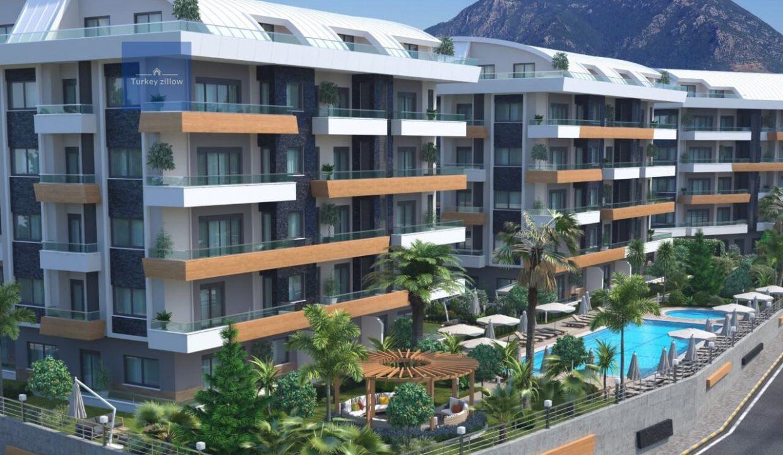 آپارتمان برای فروش در آلانیا (5)