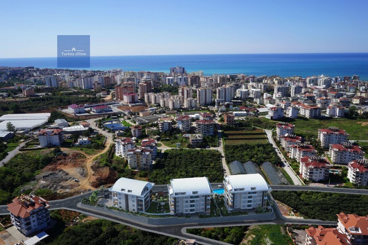 آپارتمان برای فروش در آلانیا ترکیه