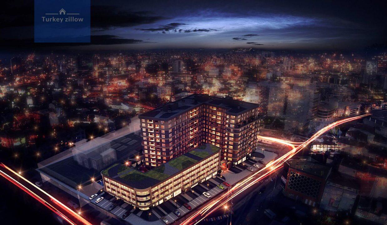 آپارتمان برای فروش در استانبول Basin Exspres