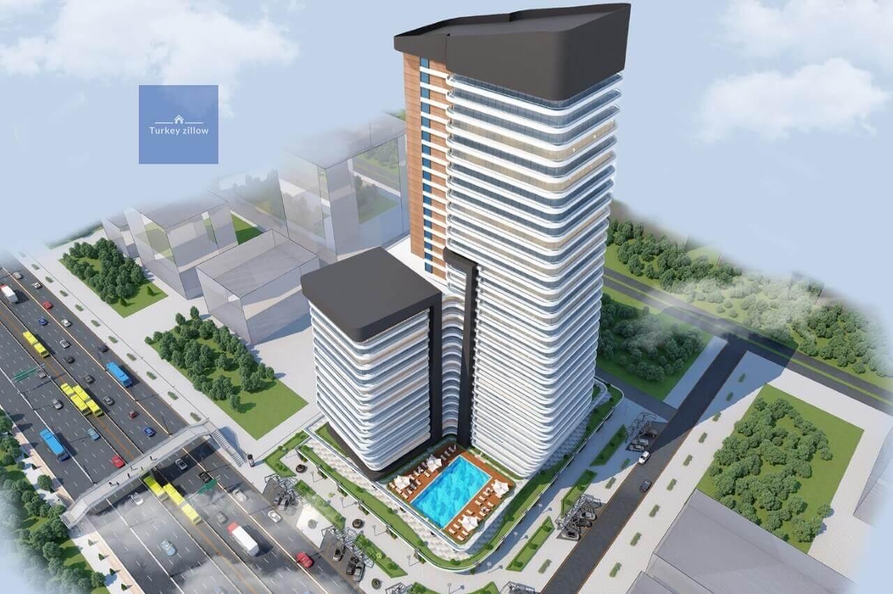 آپارتمان نوساز برای فروش در استانبول
