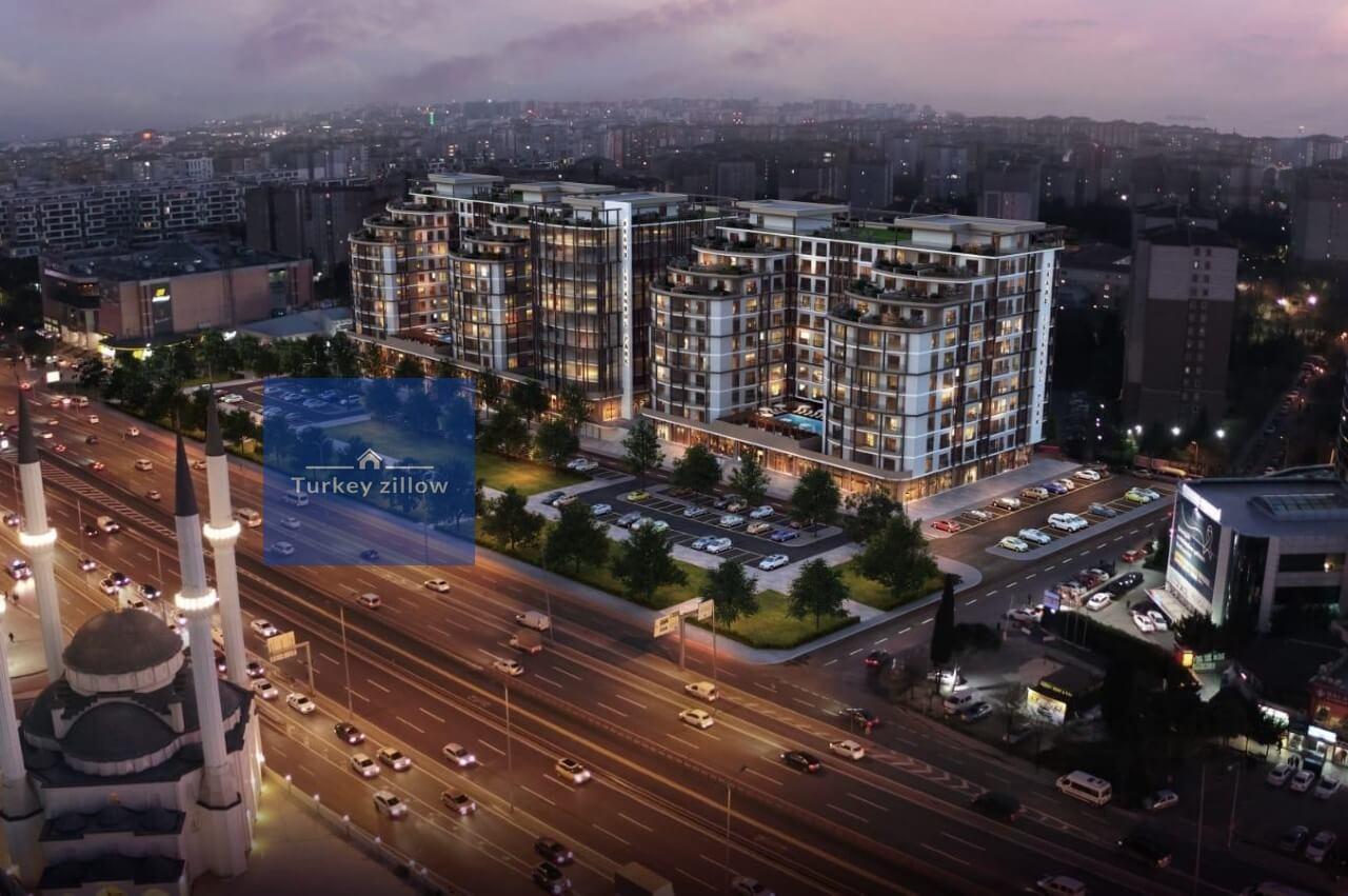 خرید ملک در بیلیک دوزو استانبول