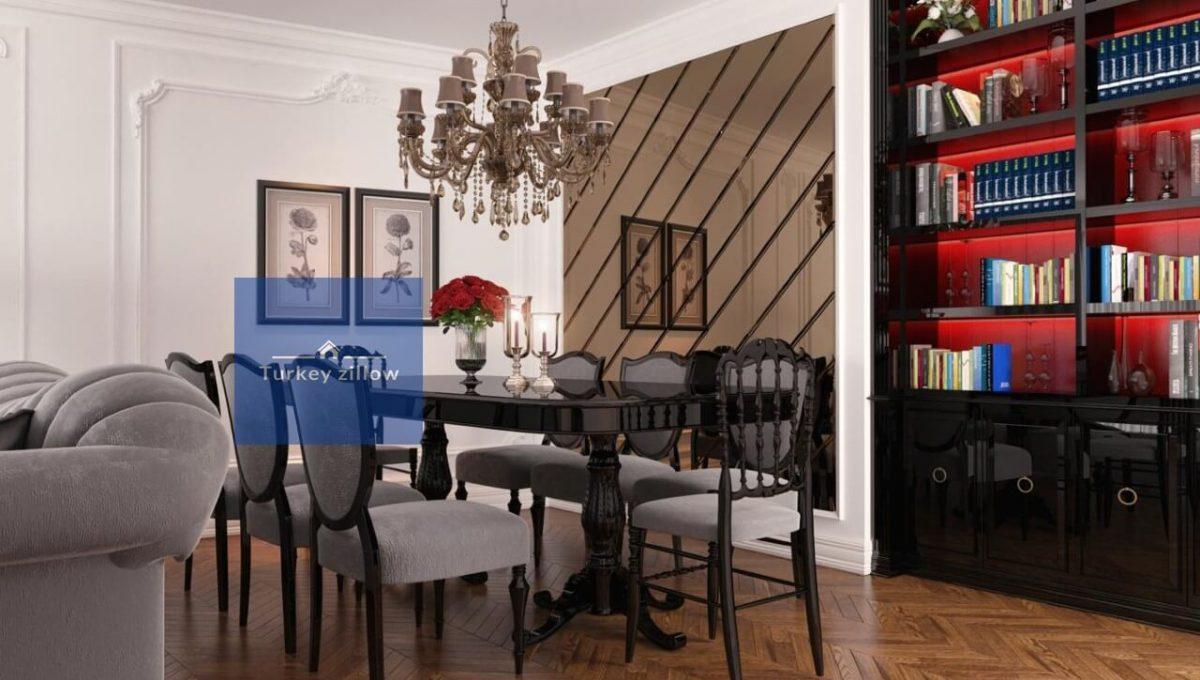 آپارتمان در اسن یورت استانبول (9)