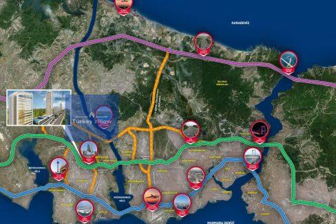 خرید آپارتمان در استانبول باهچه شهیر (30)